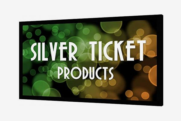 "STR-169120 Silver Ticket 120"" Diagonal 16:9 4K Ultra HD Ready HDTV (6 Piece Fixed Frame) Projector Screen"