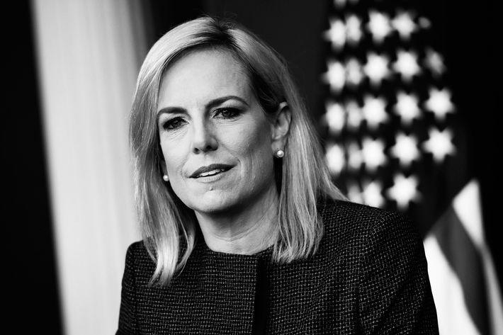 Secretary of Homeland Security Kirstjen Nielsen.