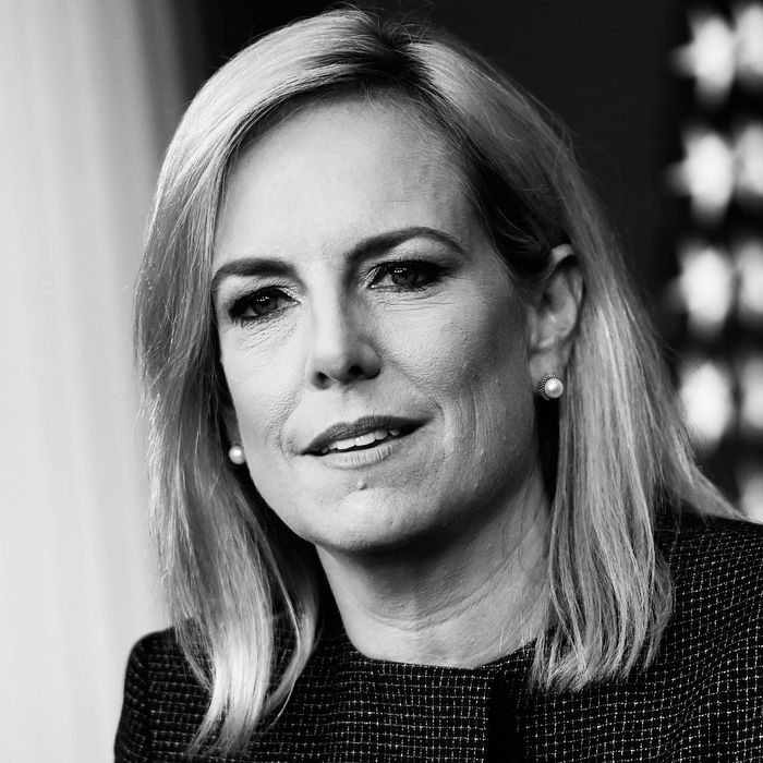 Secretary of Homeland Security Kirstjen Nielsen.