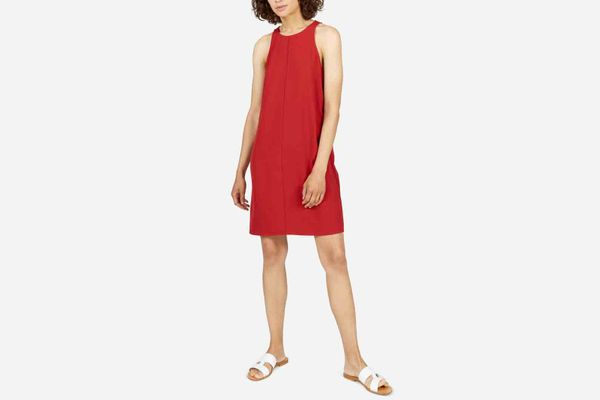 Everlane The Japanese GoWeave High Neck Tank Dress