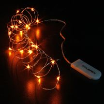 CYLAPEX 6 Pack Orange Fairy Lights