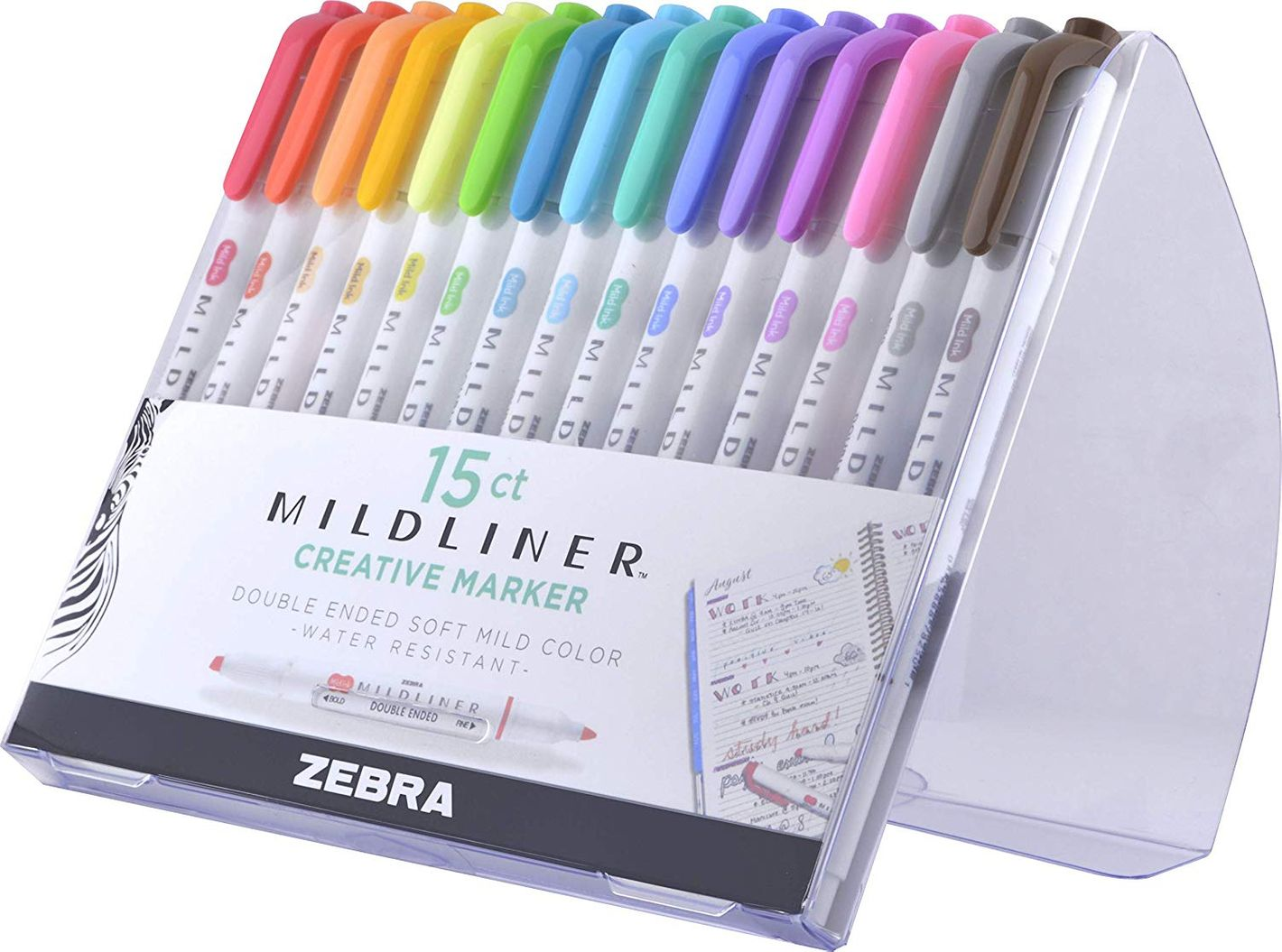 Zebra Pen Mildliner Double Ended Highlighter Set