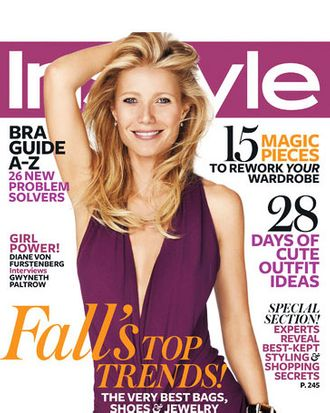 Gwyneth Paltrow for InStyle.