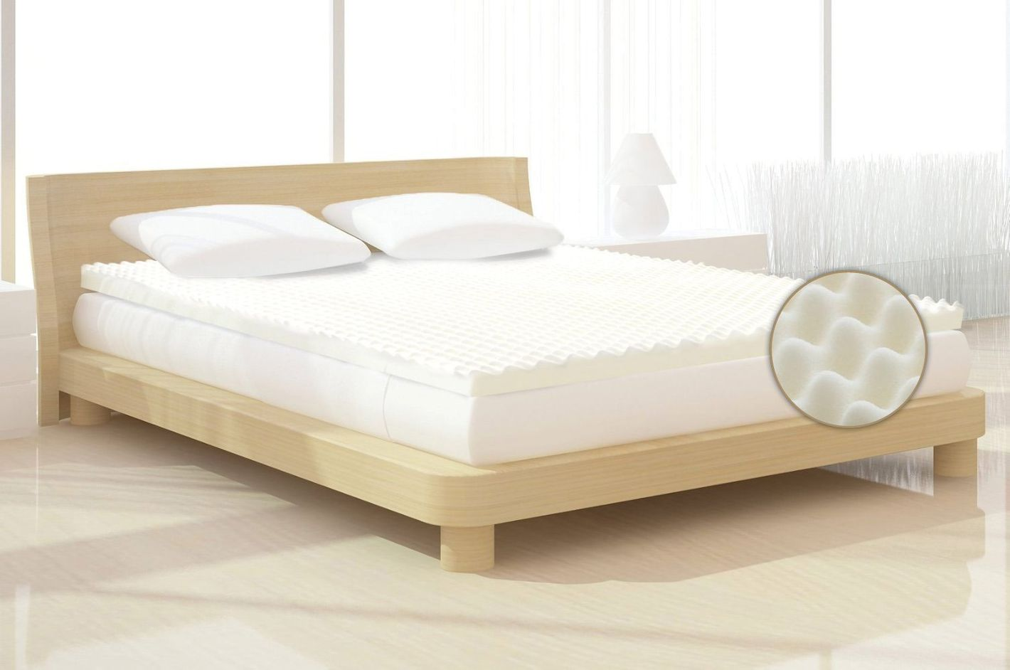 egg crate - Extra Firm Mattress Topper