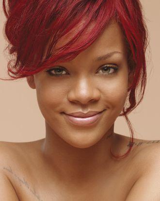 Rihanna's Nivea ad.