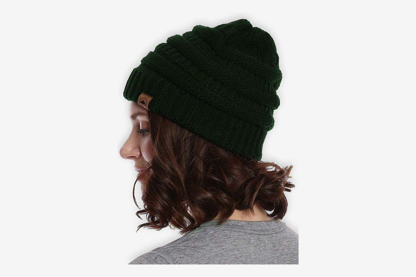 86d2a3d4f7b Best women s beanies. Tough Headwear Cable Knit Beanie