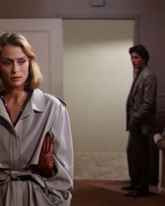 e23742f21f Lauren Hutton carries a Bottega Veneta clutch in American Gigolo.