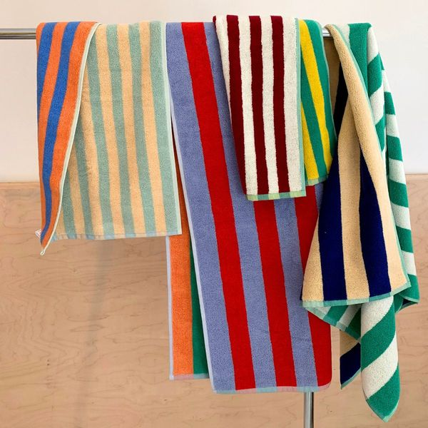 Dusen Dusen Home Set of Striped Towels