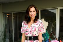 Minnie Driver attends A Dannijo And Tucker Tea on July 26, 2012 in Beverly Hills, California.