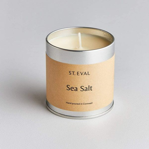 St Eval Sea Salt Scented Tin Candle