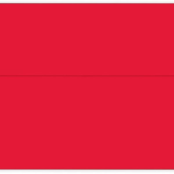 Great Papers! Bright Red Solid Envelope, 25 Count