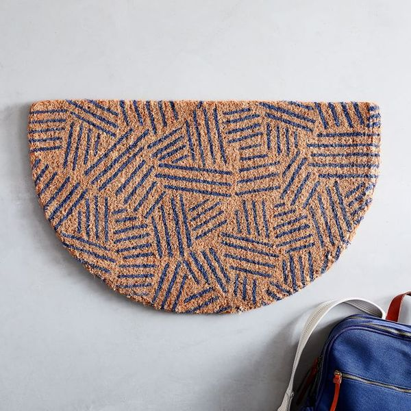 West Elm Tossed Dash Semi-Circle Doormat