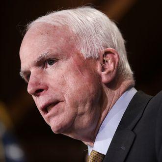 Sens. John McCain And Lindsey Graham Discuss Situation In Yemen