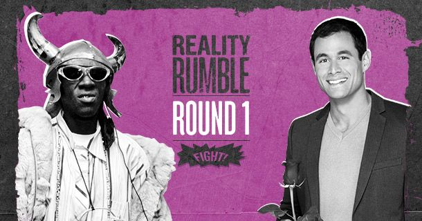 Round 1: Flavor of Love vs  Jason's The Bachelor