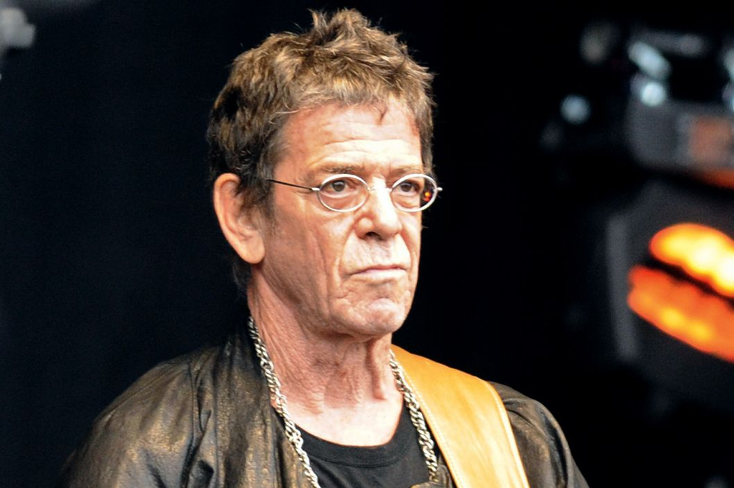 US singer Lou Reed performs on the stage of the 20th edition of the Vielles Charrues Music Festival on July 17, 2011 in Carhaix, Brittany. AFP PHOTO FRED TANNEAU (Photo credit should read FRED TANNEAU/AFP/Getty Images)