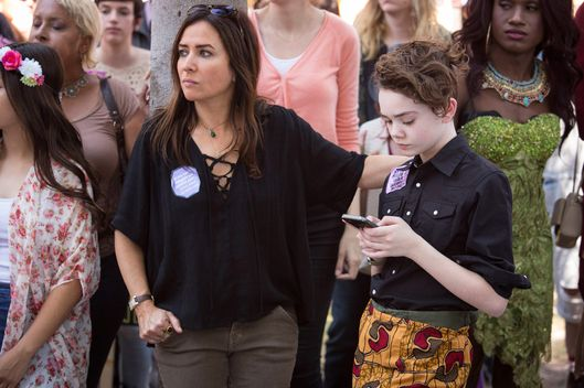 "BETTER THINGS ""Woman Is The Something Of The Something"" Episode 4 (Airs Thursday, September 29, 10:00 pm/ep) -- Pictured: (l-r) Pamela Adlon as Sam, Hannah Alligood as Frankie. CR: Nicole Wilder-Shattuck/FX"