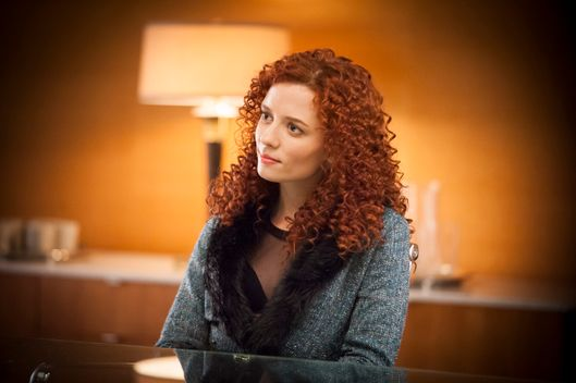 "HANNIBAL -- ""Entree"" Episode 107 -- Pictured: Lara Jean Chorostecki as Freddie Lounds -- (Photo by: Brooke Palmer/NBC)"