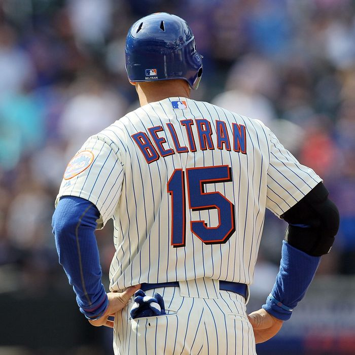 Carlos Beltran of the New York Mets.