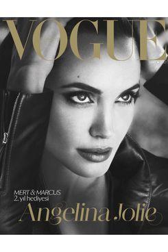 Jolie for Turkish <em>Vogue</em>.