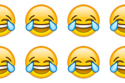 how to make laughing face with keyboard