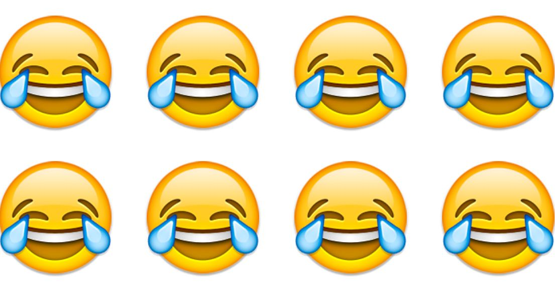 Who Did This How To Use The Laugh Cry Emoji 2015 S Word