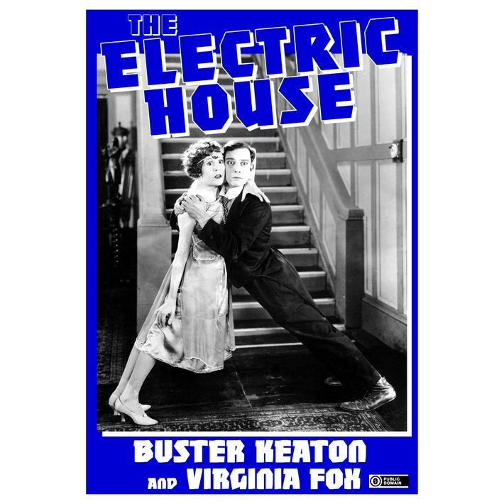 "A poster for ""The Electric House."""