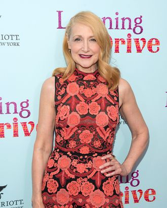 Patricia Clarkson at the <i>Learning to Drive</i> premiere, hosted by the Cinema Society.