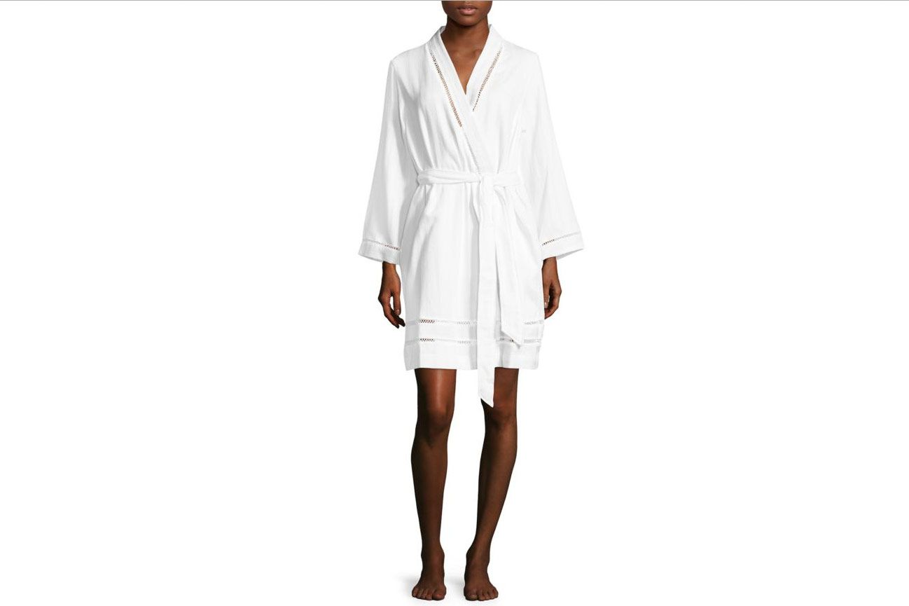 Carole Hochman Luxe Spa Short Cotton Robe