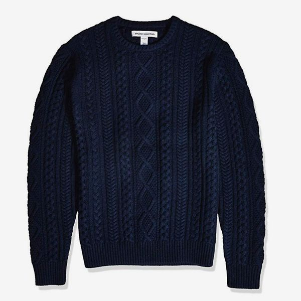Amazon Essentials Men's Midweight Fisherman Sweater