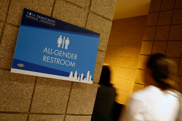 A Report From the All-Gender Bathroom at the DNC
