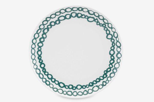 Dansk Lotta Elope 10.5-Inch Dinner Plate in Teal