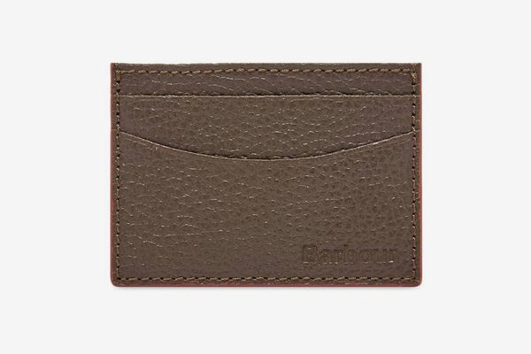 Barbour Grain Leather Card Holder