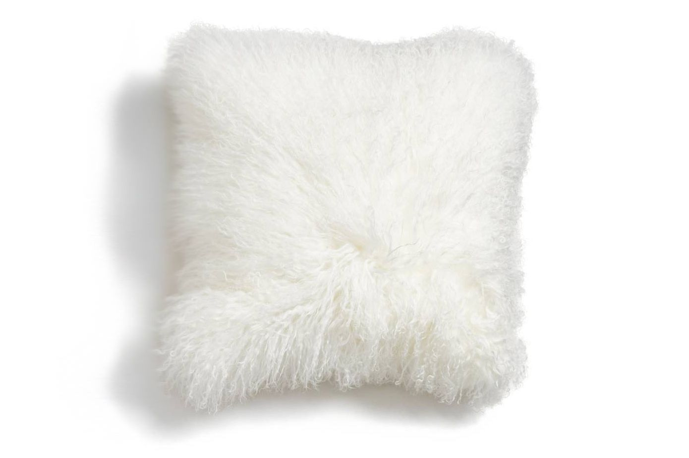 Genuine Tibetan Wool Shearling Pillow
