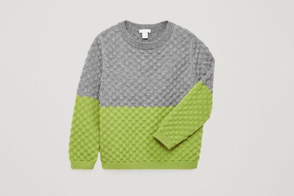 COS Bobble-Stitch Knit Jumper