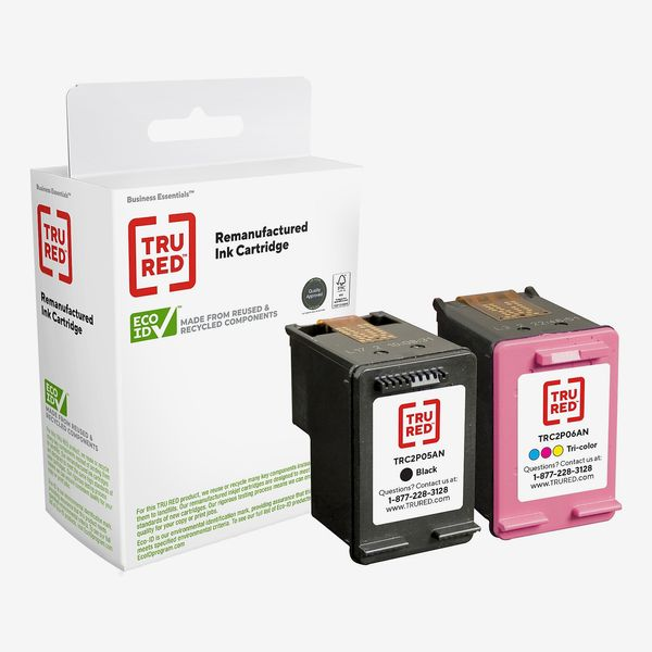 TRU RED Remanufactured Black High Yield and Tri-Color Standard Ink Cartridge Replacement for HP 62XL