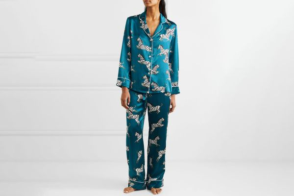 Olivia Von Halle Lila Printed Pajama Set