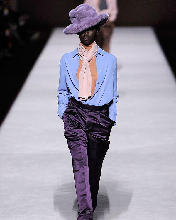 Fashion Week Poems  Tom Ford s Faux-Fur Fedoras 350acb03d15