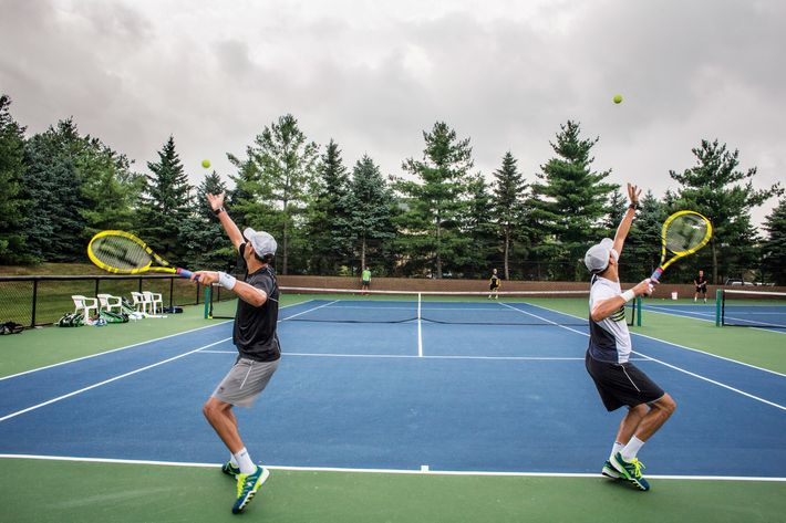 The Bryan Brothers are identical twin brothers Robert Charles