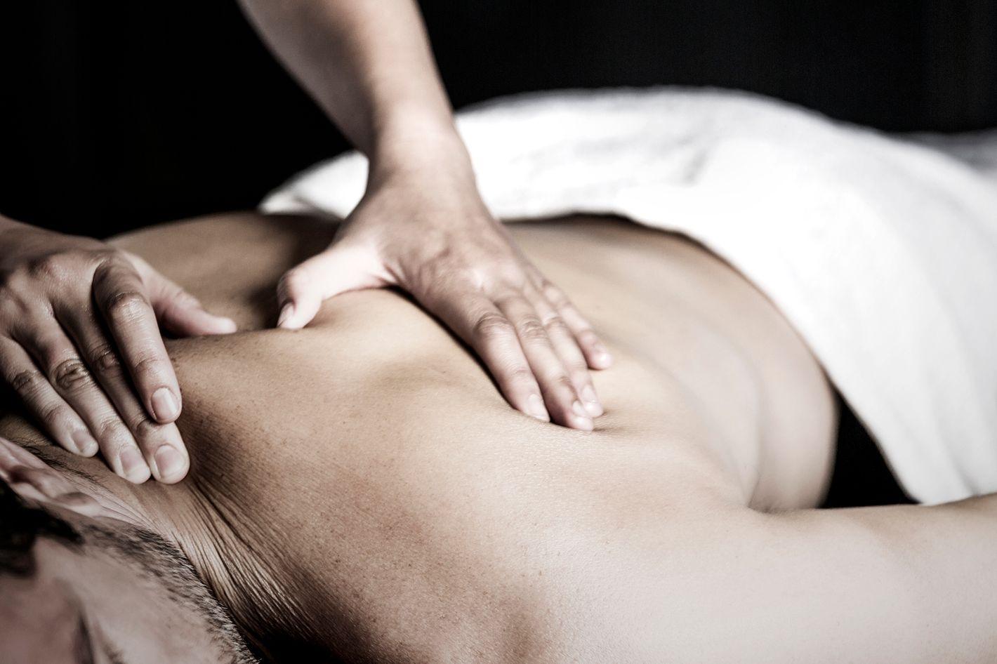 Glad slutning massage sex