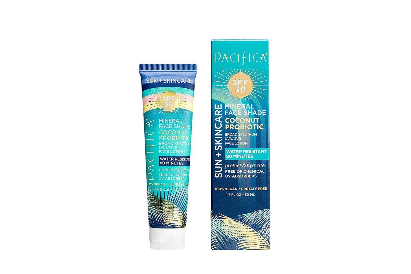 Pacifica Sun + Skincare Mineral Face Shade Coconut Probiotic SPF 30