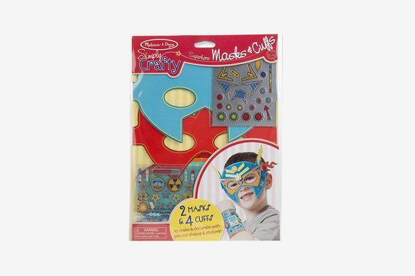 Simply Crafty Superhero Masks and Cuffs Kit