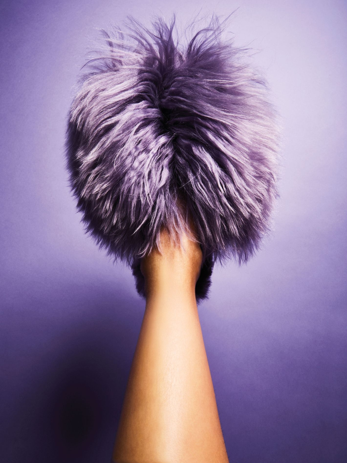 Ariana Bohling Suri Lilac Slipper