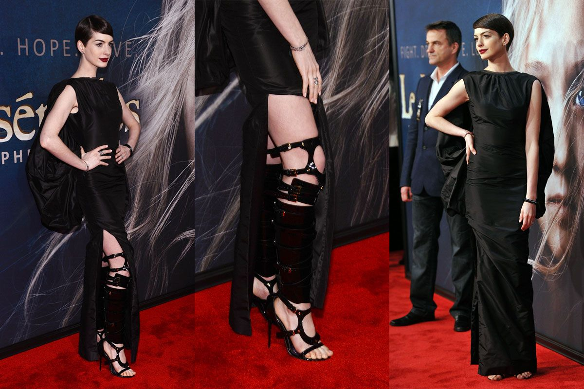 Anne Hathaway's Vegan Tom Ford Boots: Zooming In