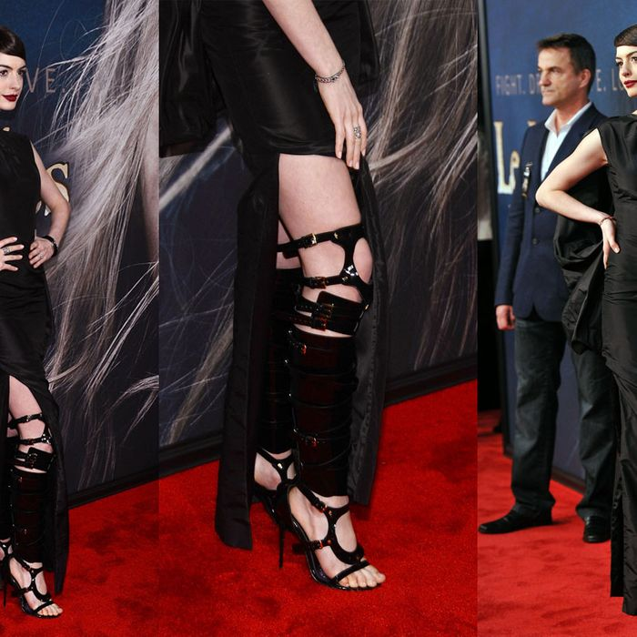 Anne Hathaway et boots.