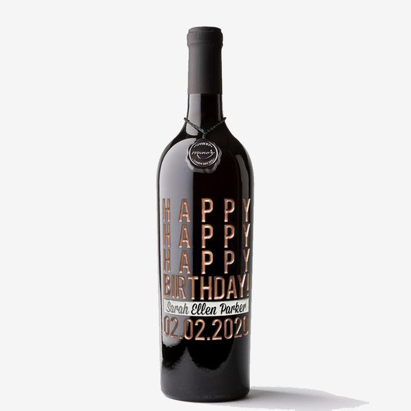 Mano's Hand-Crafted Custom-Etched Cabernet