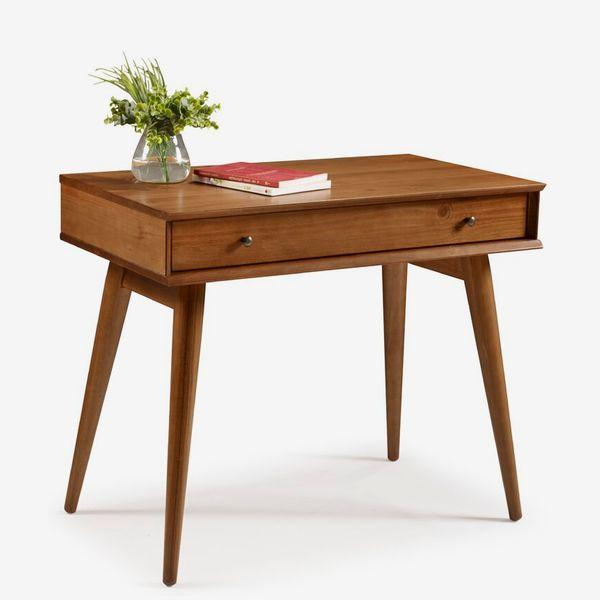 Aliyah Solid Wood Desk