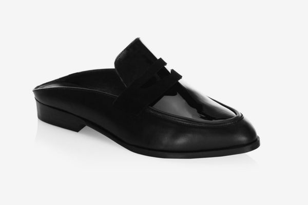 Clergerie Allan Penny Leather Mules