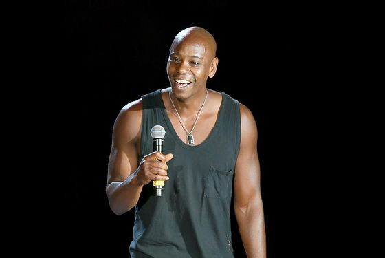 Dave Chappelle performs on stage during the first night of the Oddball Co