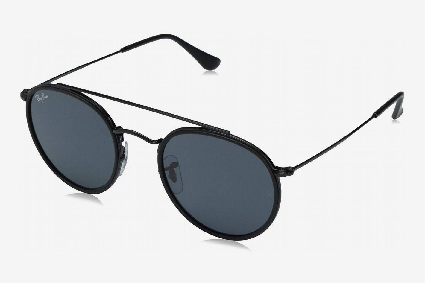 Ray-Ban Women's Round Aviator Flash Sunglasses