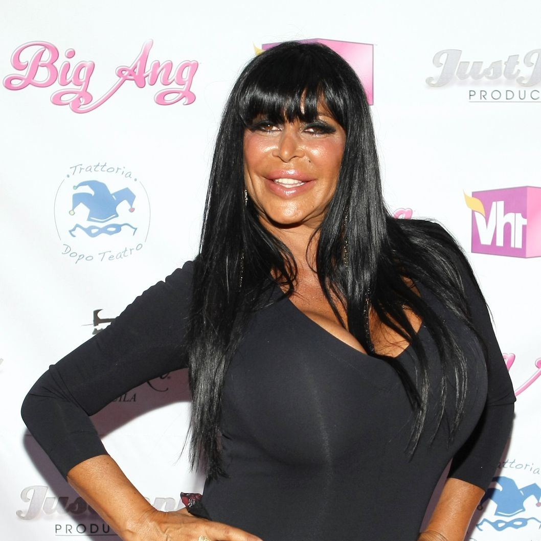 "Angela ""Big Ang"" Raiola attends the VH1 Big Ang Party at Trattoria Dopo Teatro on July 8, 2012 in New York City."